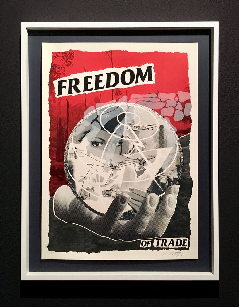 Image of NoNÅME · FREEDOM OF TRADE Silkscreen Edition