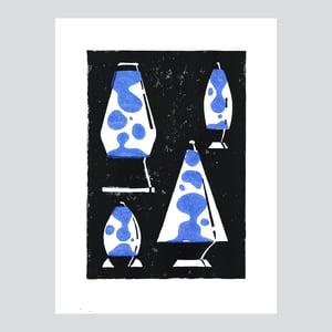 Lava Lamps / Linogravure