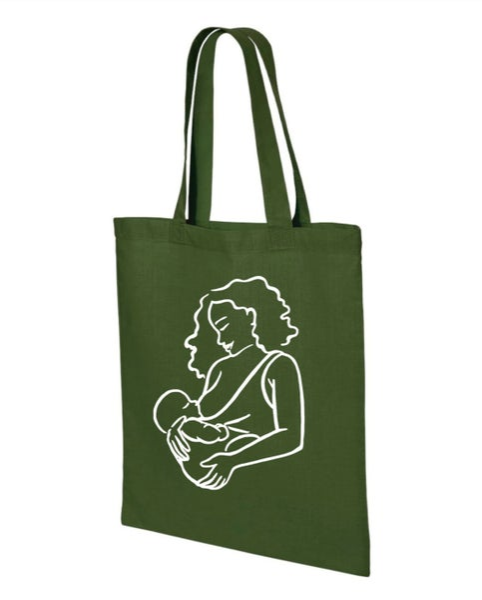 Image of Breastfeeding Tote (Moss)