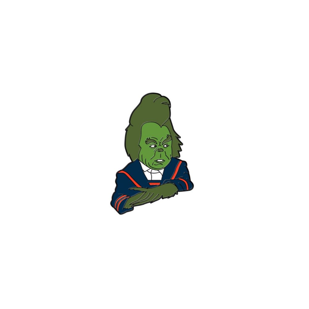 Image of 'Grinch' Enamel Pin