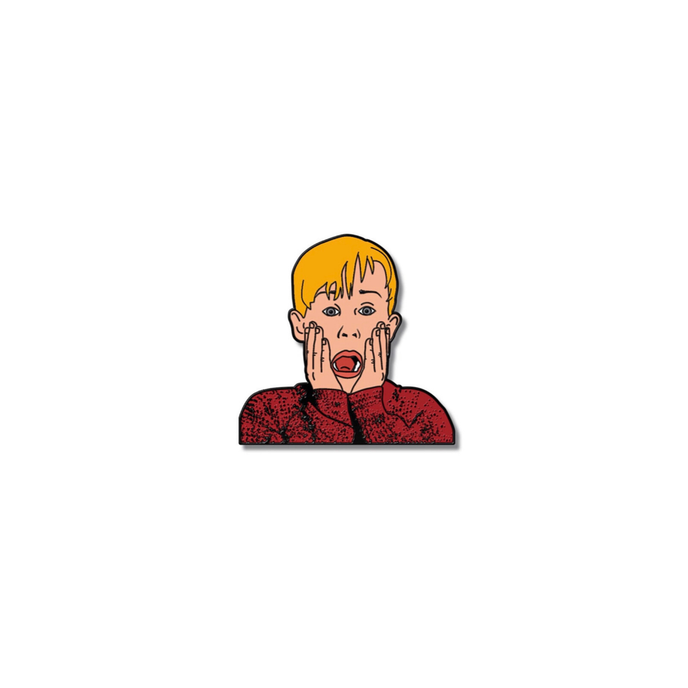 Image of 'Kevin Home Alone' Enamel Pin