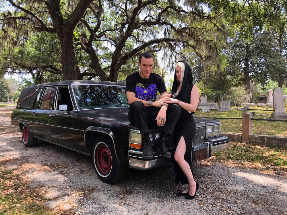 Image of Signed 8x10 Grimm-Life Hearse Photo