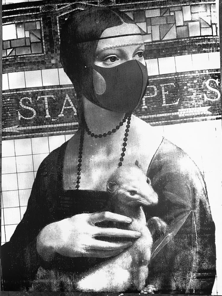 Image of Lady with an Ermine on Stanhope