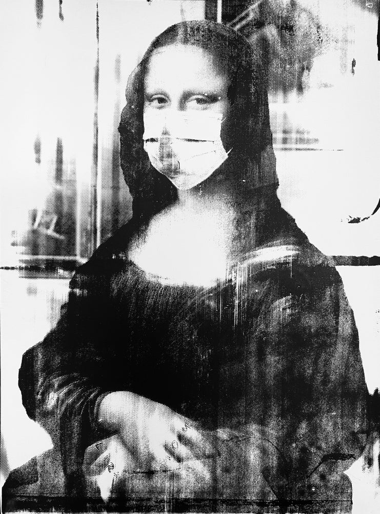 Image of Mona in NYC in Quarantine