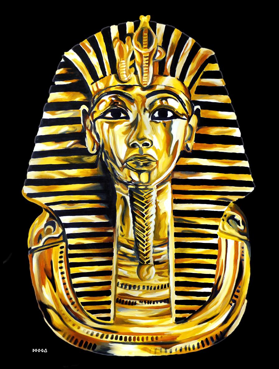 Image of Immortal Black - Canvas Print