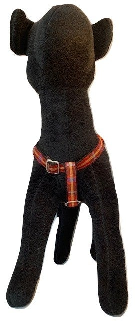 Red Plaid - Step-in Harness