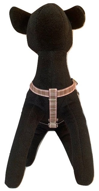 Windsor plaid pink - Step-in Harness