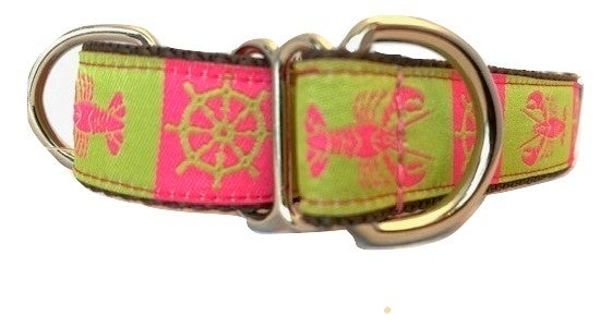Lady Lobster - Martingale Dog Collar