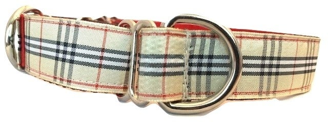 Windsor Plaid - Martingale Dog Collar