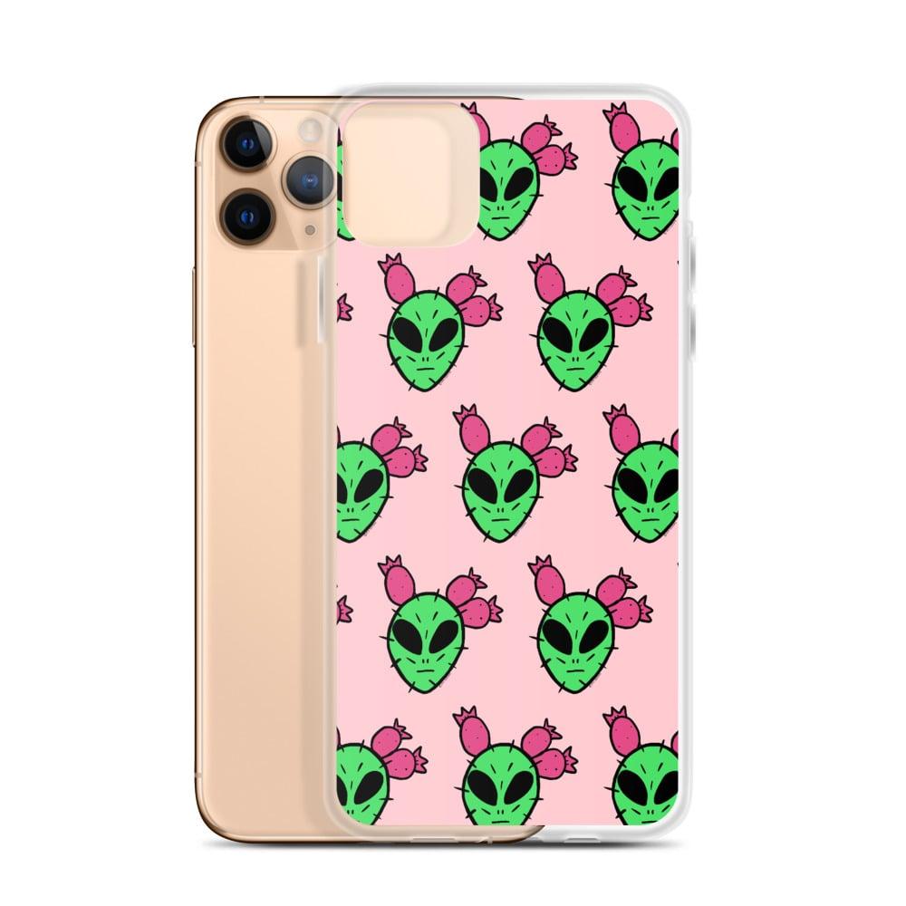 Image of No Pals Desert Alien iPhone Case