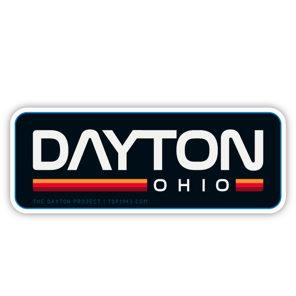 Image of Dayton NASA Sticker