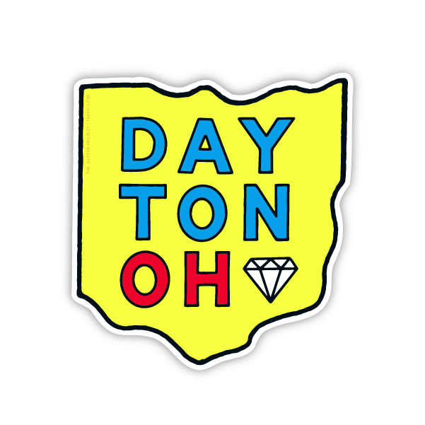 Image of Dayton Ohio Sticker