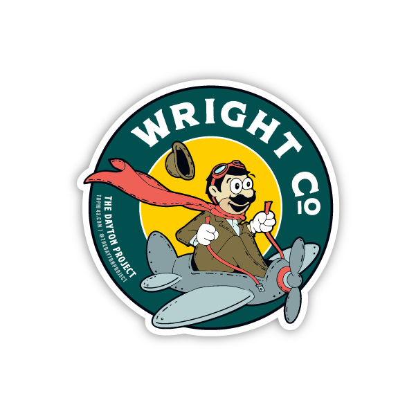 Image of Wright Co Sticker