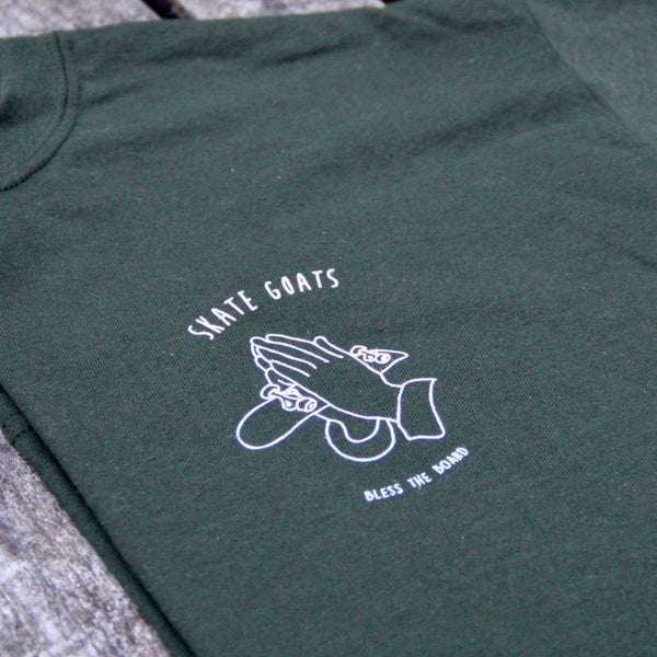 Image of Bless The Board Tee | Forest Green