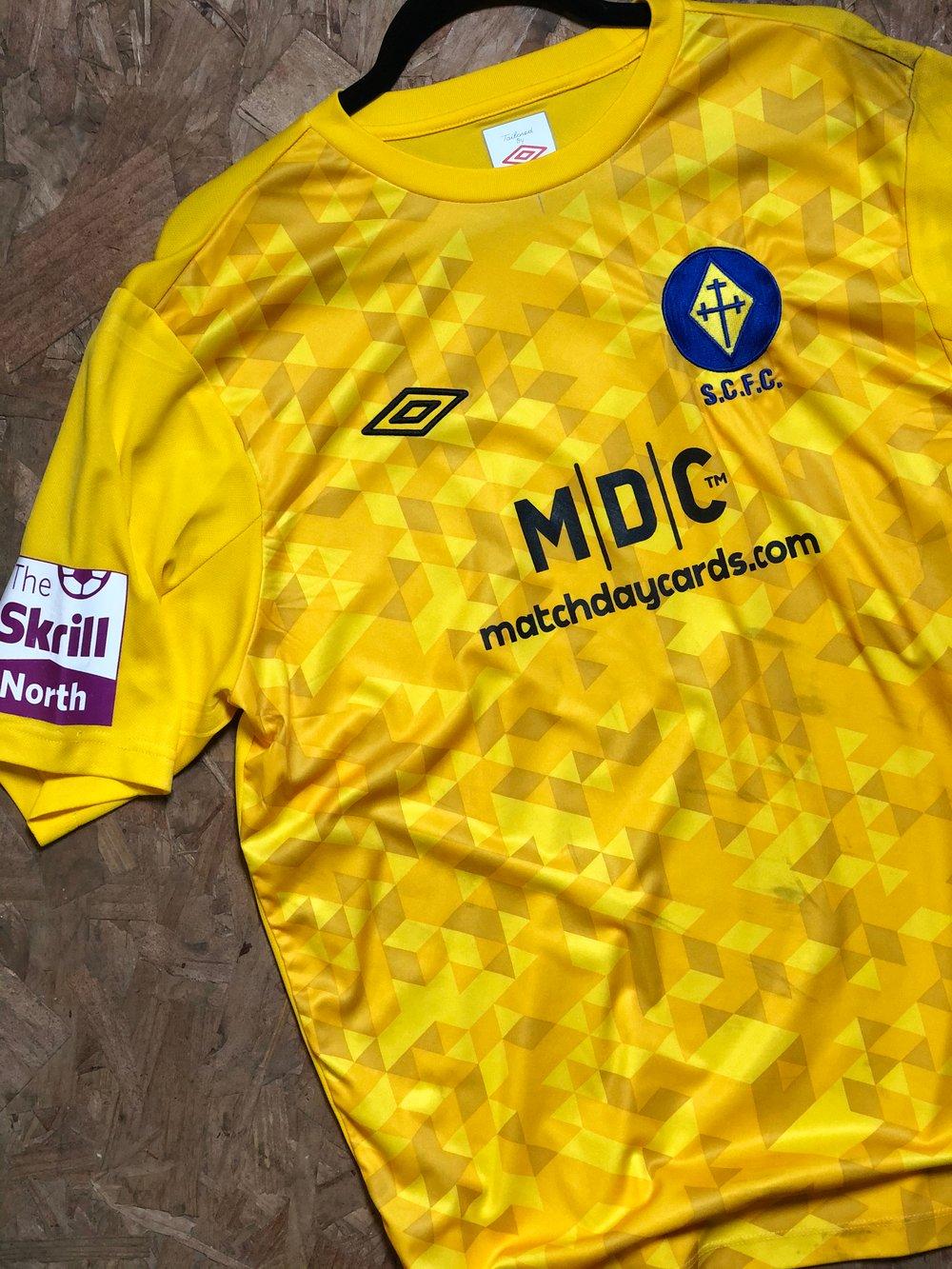 Image of Match Worn 2013/14 Umbro GK Shirt