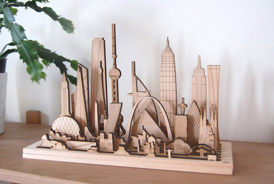 Image of Iconic Structures, Modular sculpture.