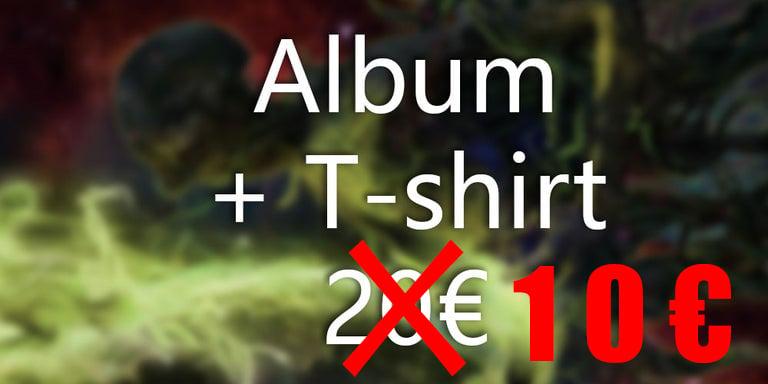 Image of Album + T-shirt