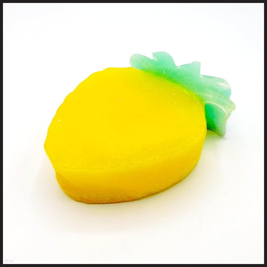 Pinapple Sponge Soap