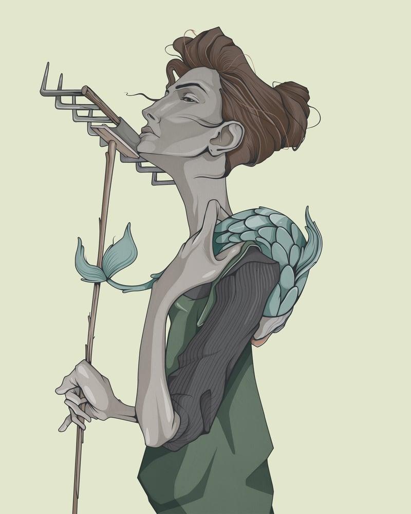 Image of Galo y más ilustraciones