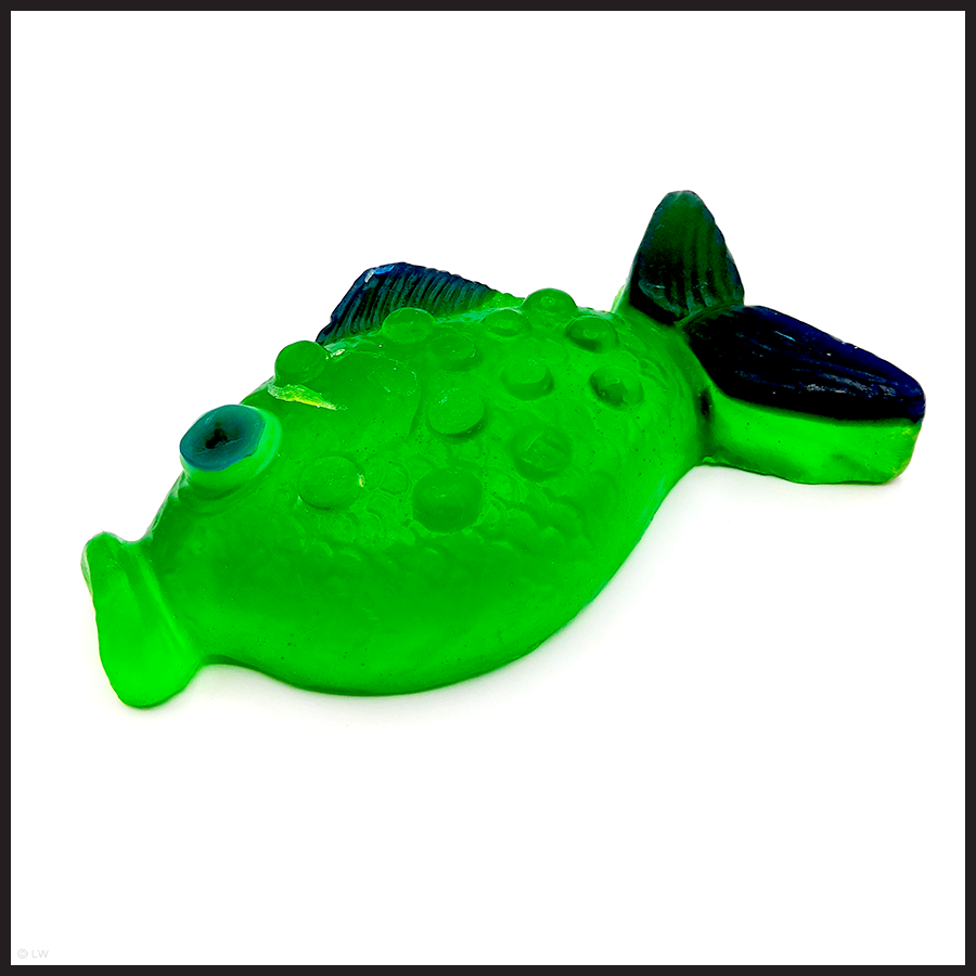 Im So-Fish-icated: Green Fish Soap