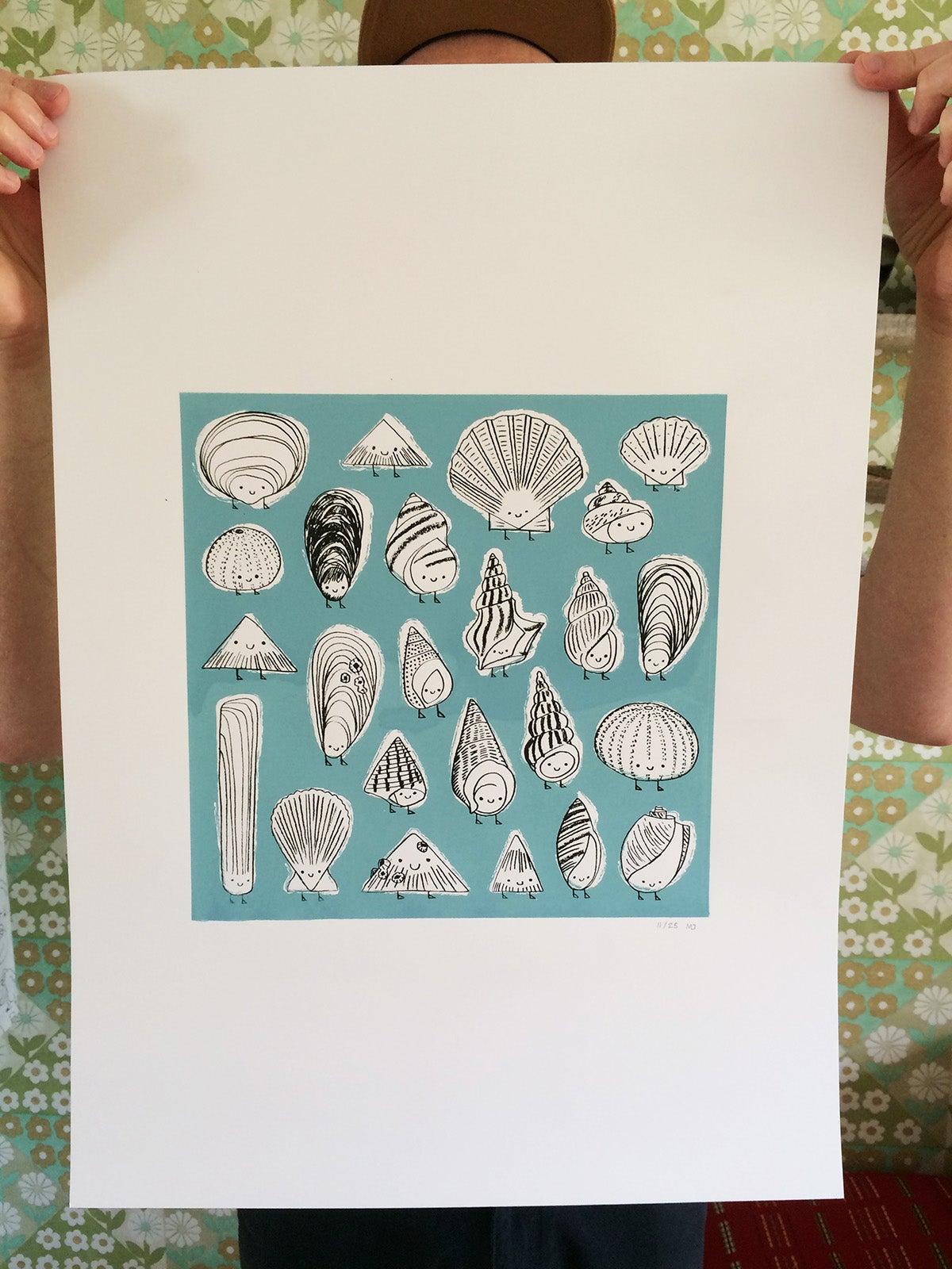 Image of Shell Peeps Screen Print