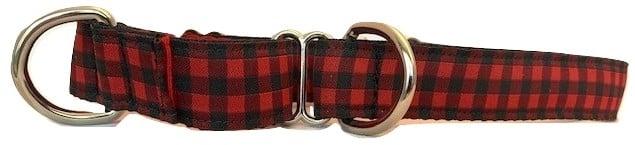 Buffalo Plaid - Martingale Dog Collar
