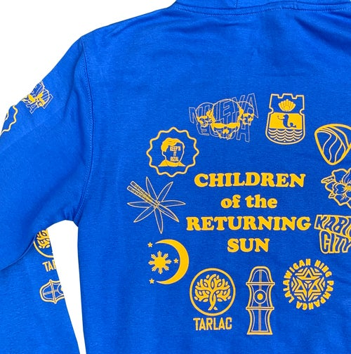 Image of Sun and Stars Hoodie - Royal Blue