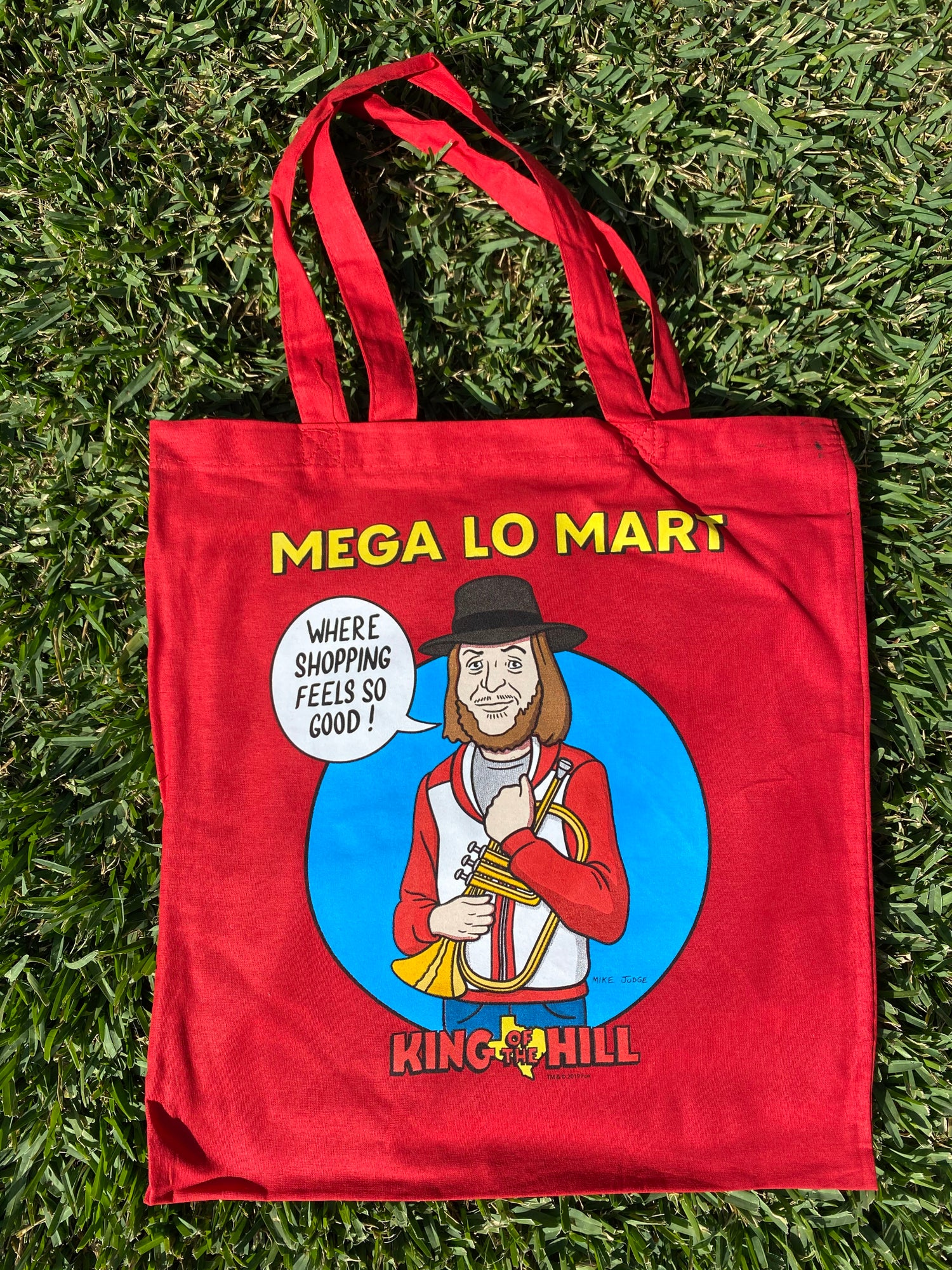 Image of King of the Hill - Chuck Mangione Mega Lo Mart Tote Bag