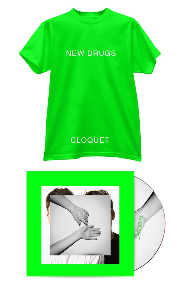 Image of New Drugs - Cloquet (DELUXE CD PRE-ORDER)