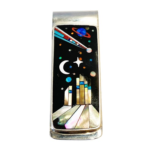 Image of Galaxy Money Clip Comet