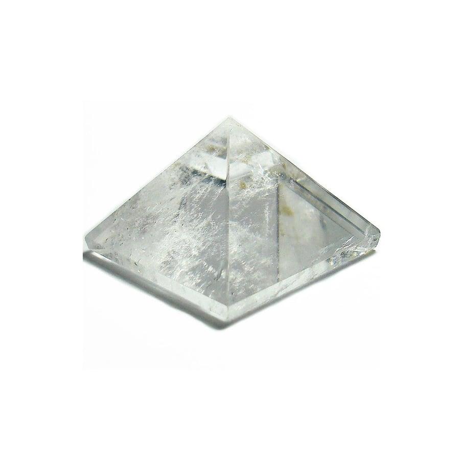 Image of Clear Quartz Crystal Pyramid