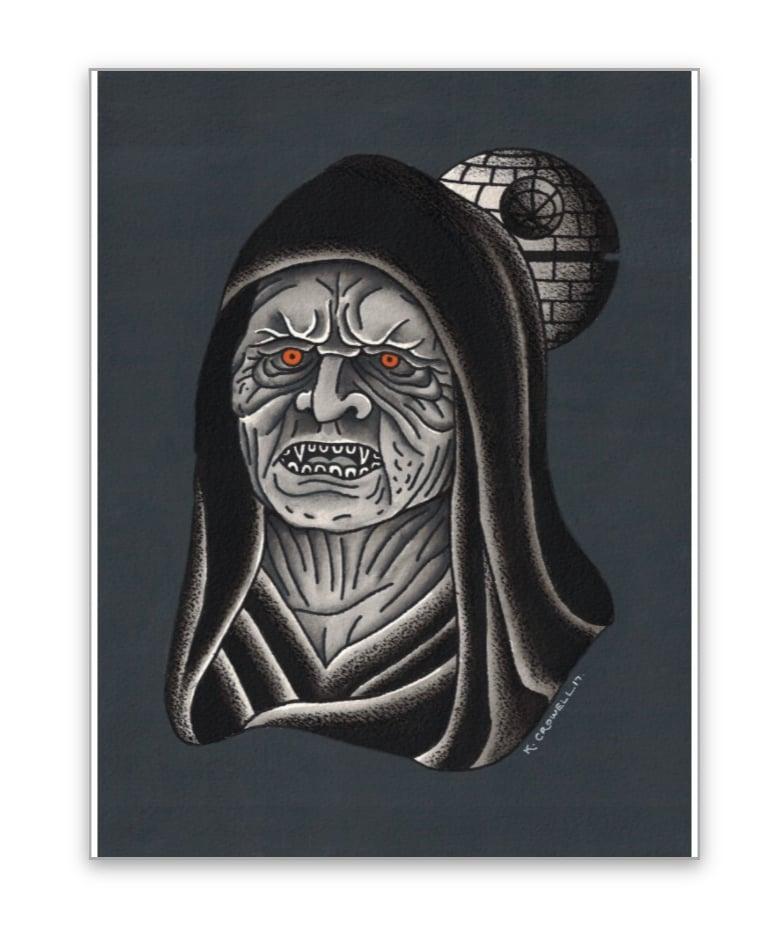 Image of Emperor 8x10 print