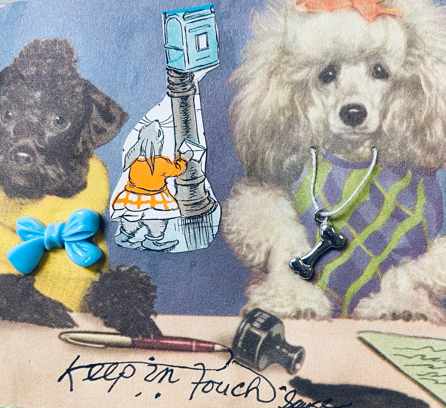 Image of Poodles keep in touch