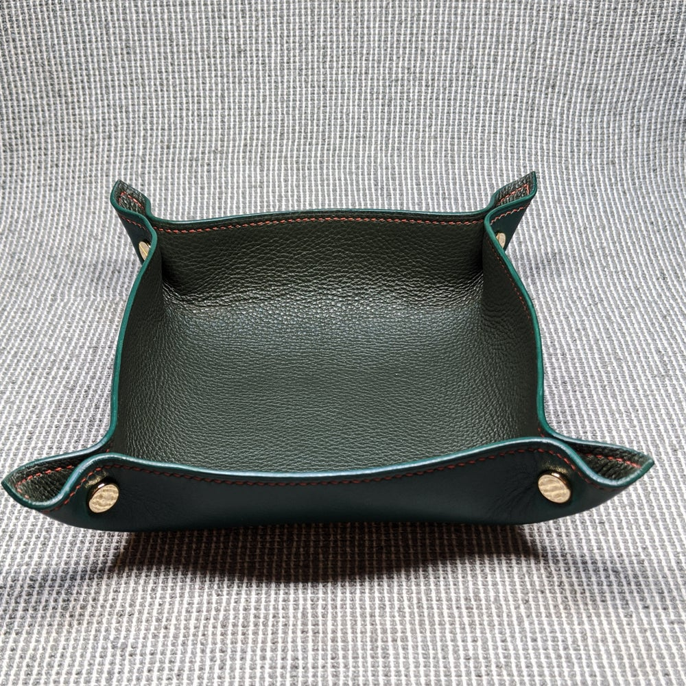 Image of VALET TRAY - Green & Green