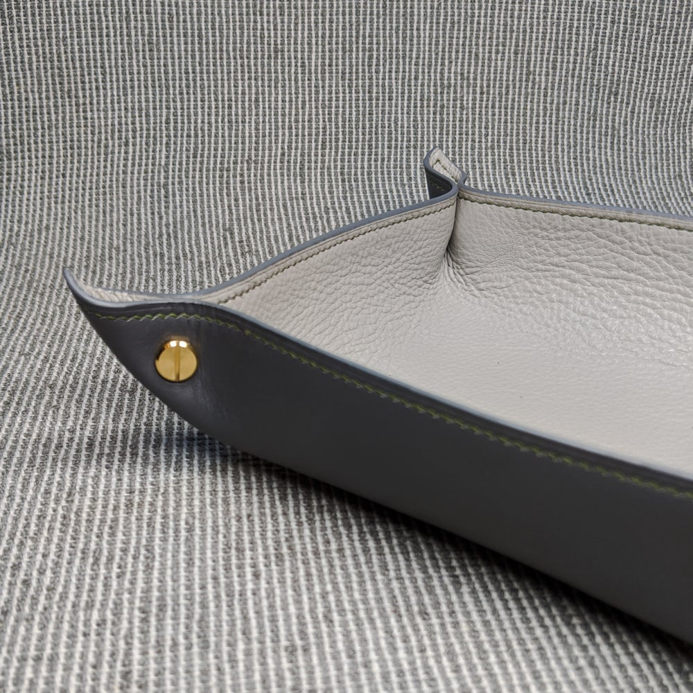 Image of VALET TRAY - Grey & Light Grey