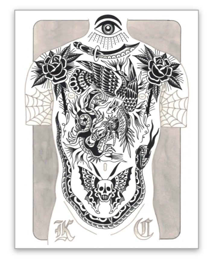 Image of Blacktop 8x10 print