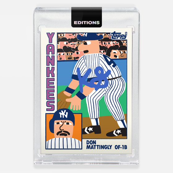 Image of 1984 Mattingly 'Blue'