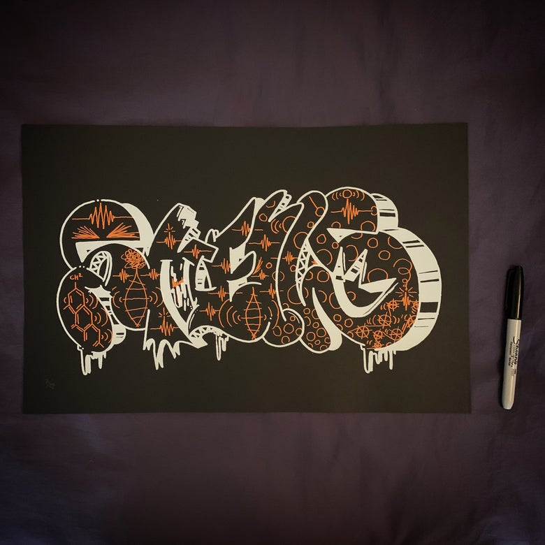 Image of Smells907 + EKG Silkscreen