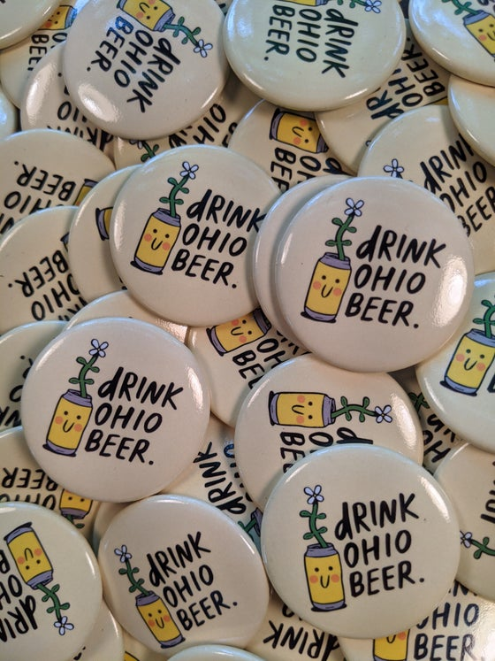 Image of Drink Ohio Beer.