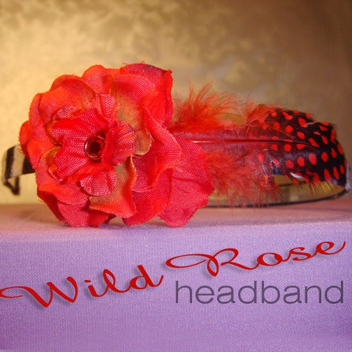Image of Wild Rose Headband