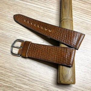 Image of Bourbon Horween Shell Cordovan Russian Grain unlined - Limited Edition