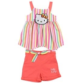 Image of HELLO KITTY Short Set