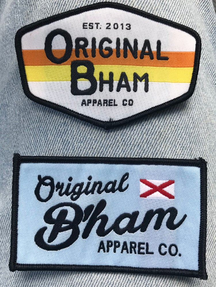 Image of Original B'ham Apparel Co Sew-On Patch