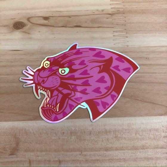 Image of Savage Love Holographic Sticker
