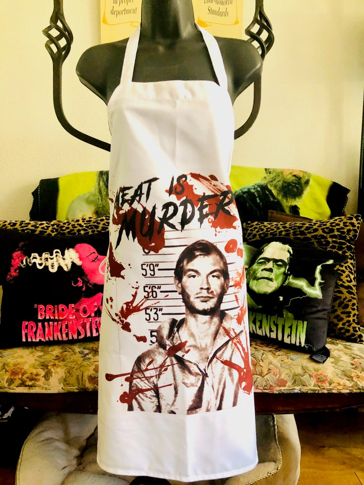 Image of Meat Is Murder Apron
