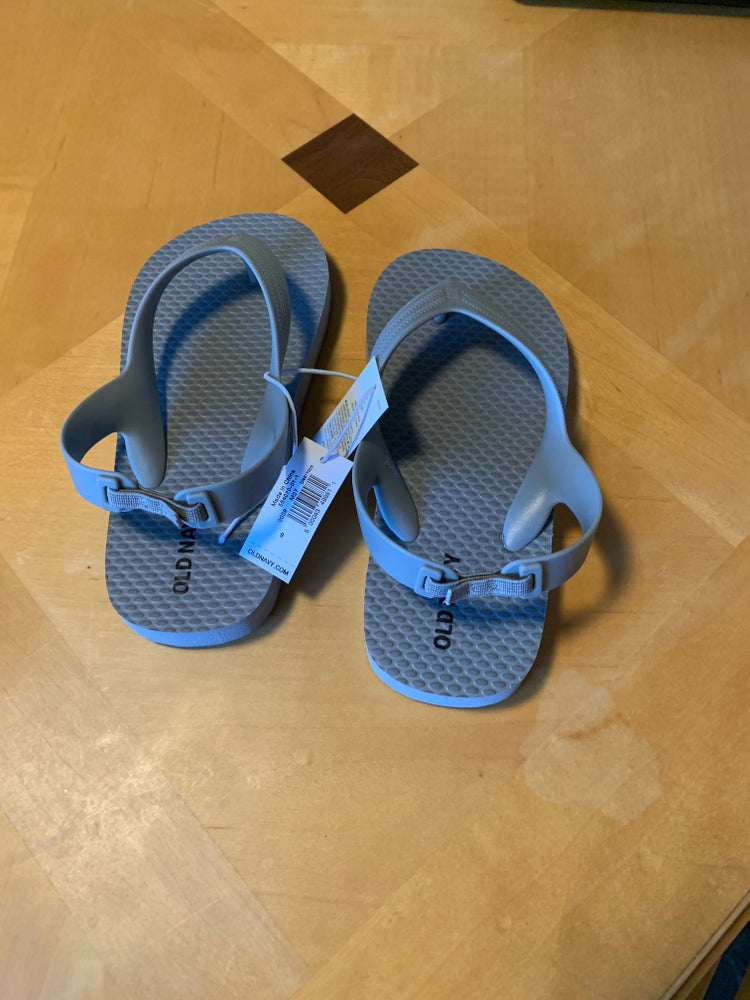 Image of Toddler Gray Flip Flops