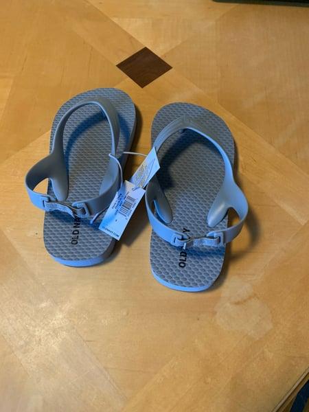 Image of Toddler Gray Flip Flops