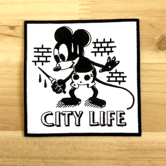 Image of City Life Embroidered Patch