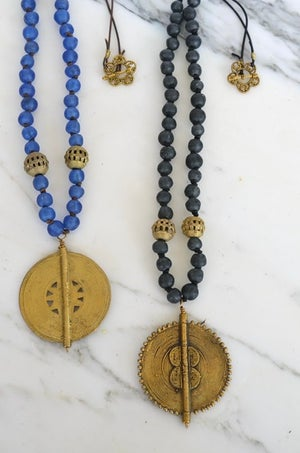 Tribal Medallion Necklace