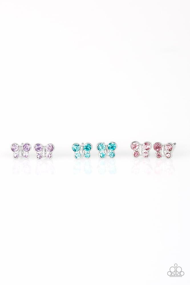 Image of Girls Paparrazi  Butterfly Earrings